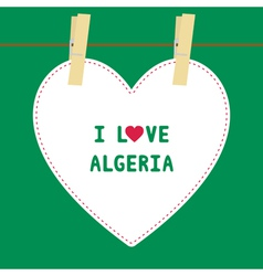 I lOVE ALGERIA5 vector