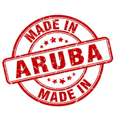 made in aruba vector image