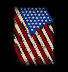 My falg - american flag - usa flag vector