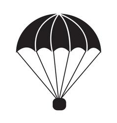 parachute icon symbol design vector image