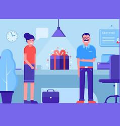 Product presentation concept vector