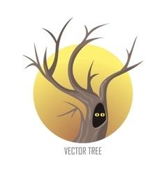tree Oak Isolated on White vector image