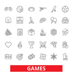 video games sports hobby passion console play vector image