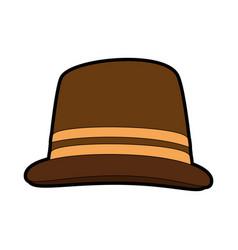 Vintage hat accesory vector