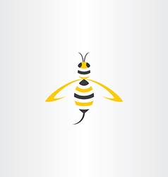 Wasp stylised icon logo vector