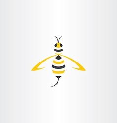 Wasp stylized icon logo vector