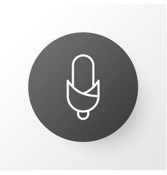 corn icon symbol premium quality isolated maize vector image vector image