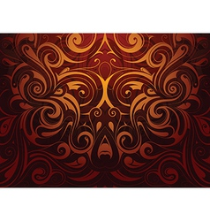 Decorative abstraction vector image vector image