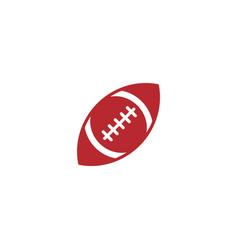 american football ball icon design template vector image