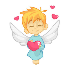 Bacupid cartoon cupid vector