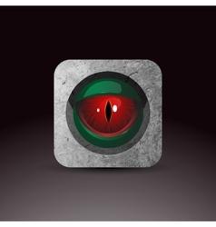 Dragon eye vector