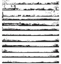 edges grunge vector image