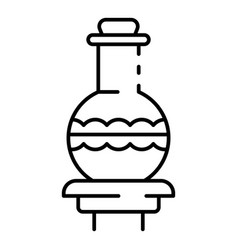 magic potion icon outline style vector image