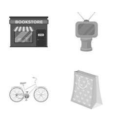 service sports and other monochrome icon in vector image