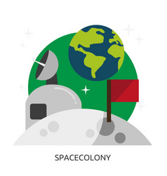 Space spacecolony image vector