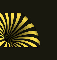 Tunnel template optical curved vortex hole vector