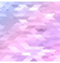 Colorful pink violet purple polygonal background vector image vector image