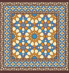 ornamental pattern in arabic style vector image vector image