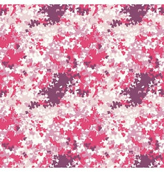 Pink camouflage texture vector image vector image