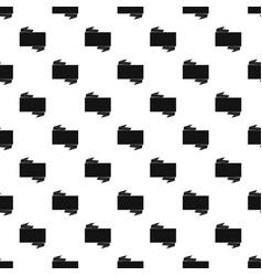 black banner pattern vector image