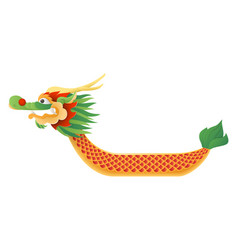 dragon boat traditional festival vector image
