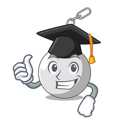 Graduation wrecking ball hanging from chain vector