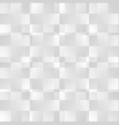 Grayscale abstract square pattern seamlessly vector