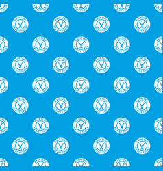 painting tool brush pattern seamless blue vector image