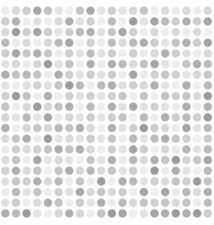 silver dot pattern seamless vector image