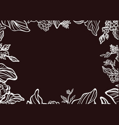 template branch white vector image