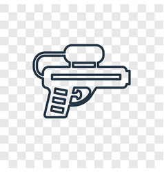 Toy toy concept linear icon isolated on vector