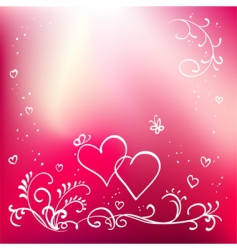 Valentine's Day graphics vector image