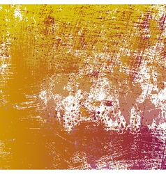 Yellow Grungy Texture vector image