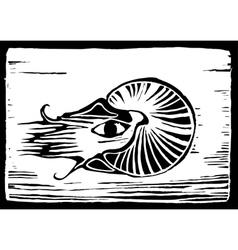 Nautilus vector image vector image
