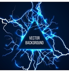 Technological and scientific background vector image