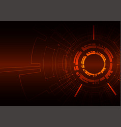 abstract colored technological background with vector image