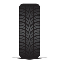 Car tyre - tire vector image