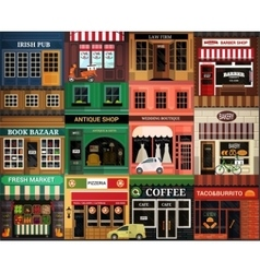 Exteriors icon vector image