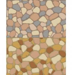 gravel texture vector image vector image