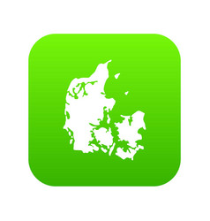 holland icon green vector image