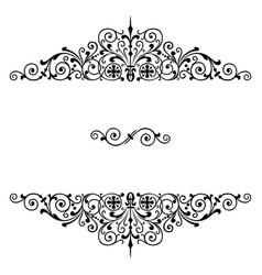 luxury decoration design art vector image