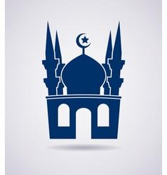 mosque icon vector image