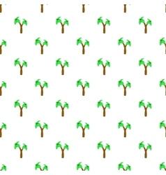Palms pattern cartoon style vector