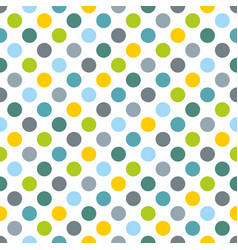 Seamless pattern texture or background with dots vector
