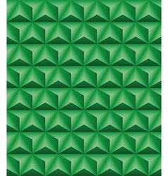 Tripartite pyramid green seamless texture vector