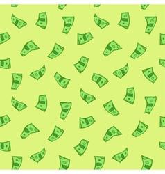 Dollars seamless vector image