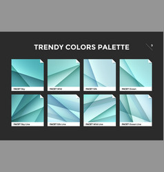 glass facet gradient template icon vector image vector image