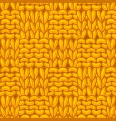 garter checkerboard stitch pattern vector image