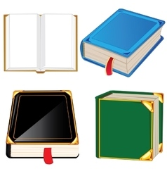 Much books vector image