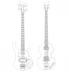 bass vector image vector image